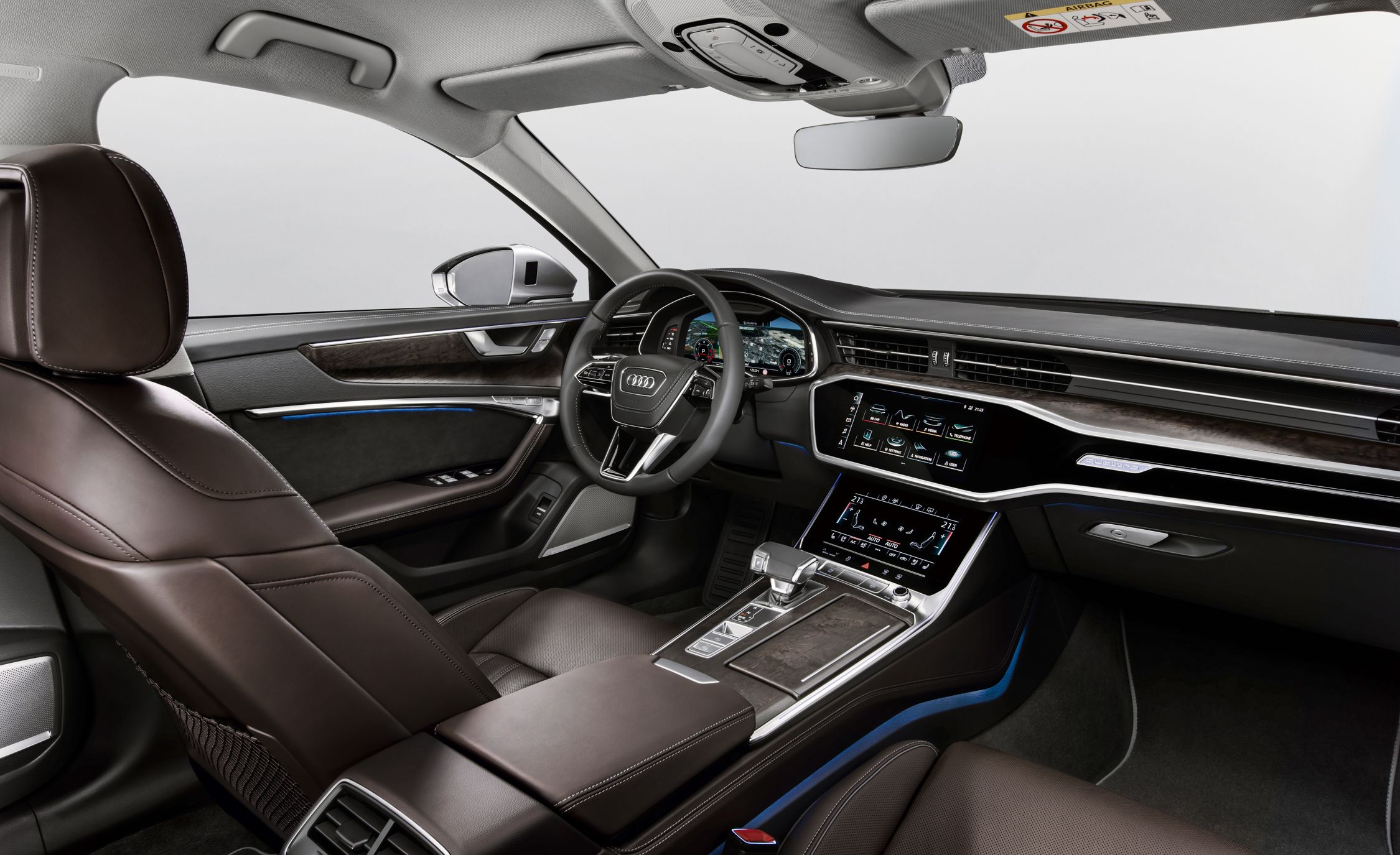 Audi A First Drive Redesigned From The Inside Out Review - Audi a6 redesign