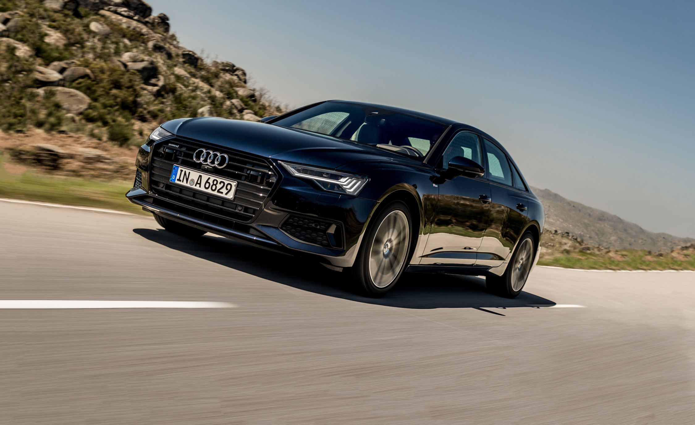 Audi S >> 2019 Audi A6 First Drive: Redesigned from the Inside Out | Review | Car and Driver