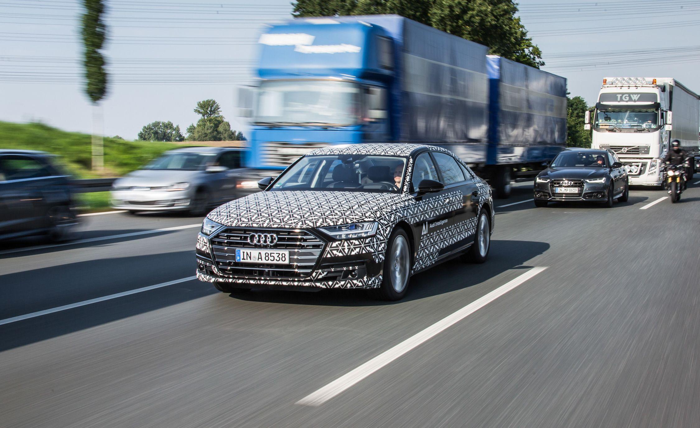 2019 Audi A8 Won't Offer Hands-Off Autonomous Tech in the U.S.