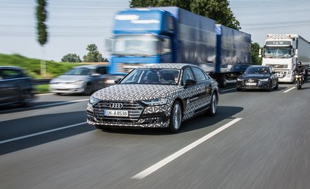 2019 Audi A8 Won't Offer Hands-Off Autonomous Tech in the U.S.