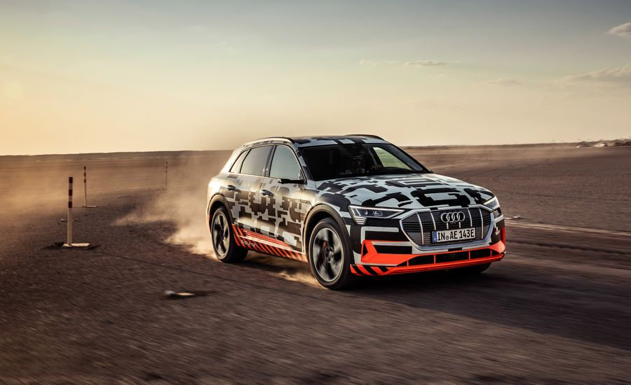 Audi Etron Electric SUV More Futuristic Than It Appears - Audi electric cars