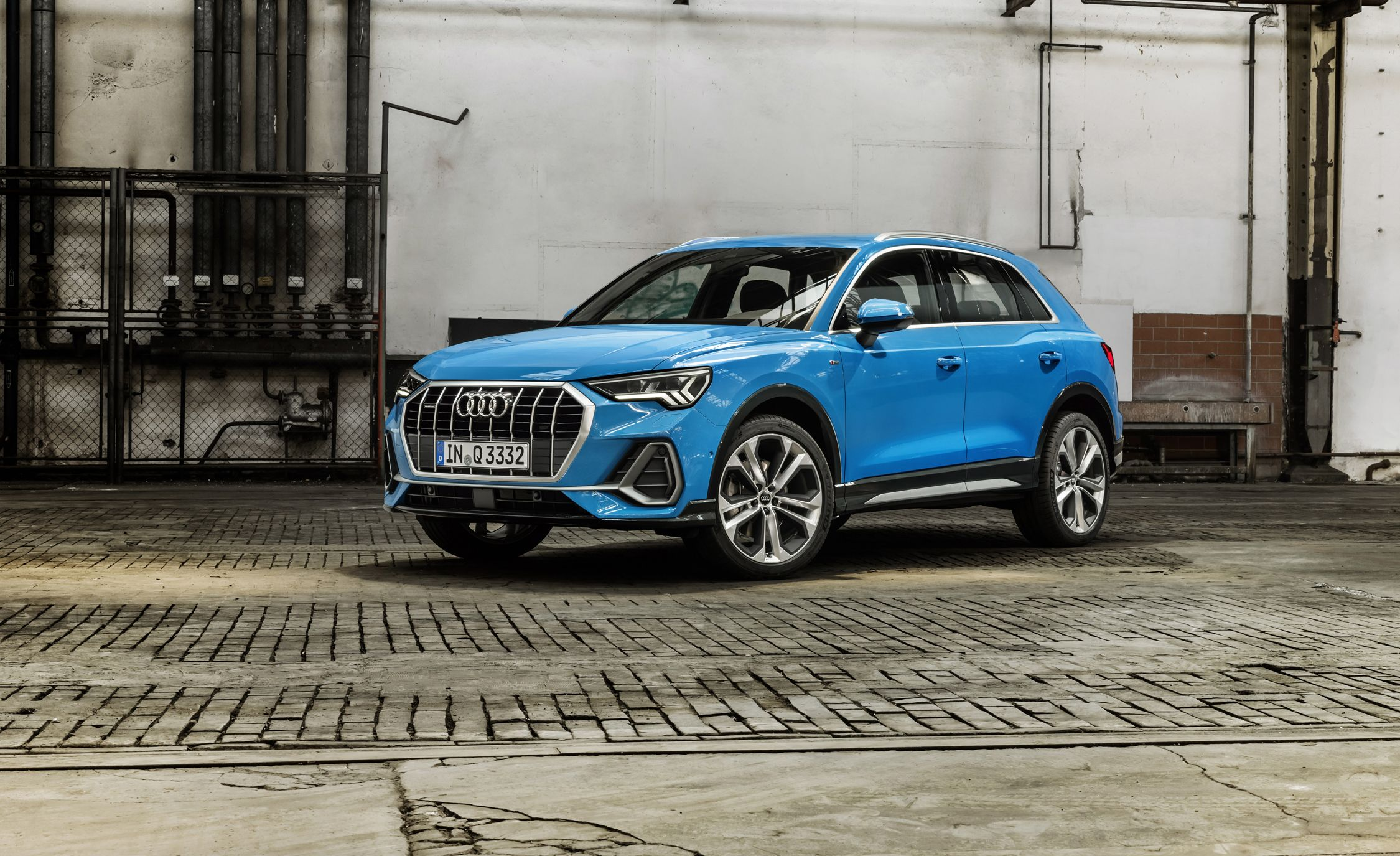 2019 audi q3 is all new and packed with style and tech news car and driver. Black Bedroom Furniture Sets. Home Design Ideas