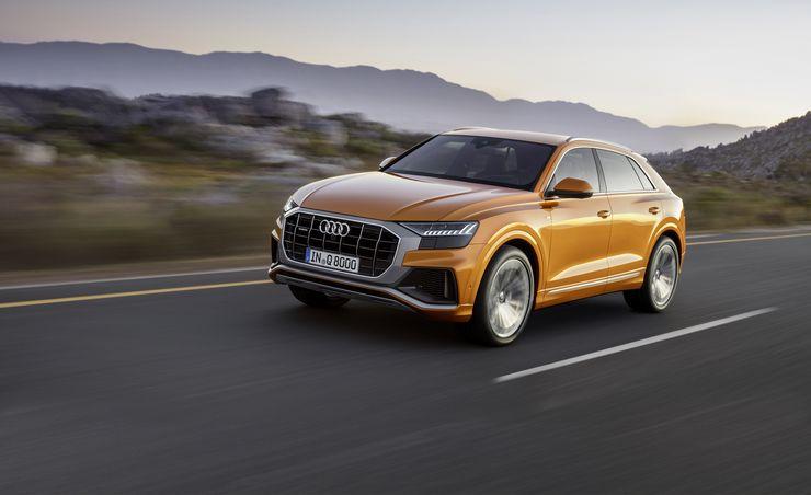 Orange Crush: 2019 Audi Q8 Revealed