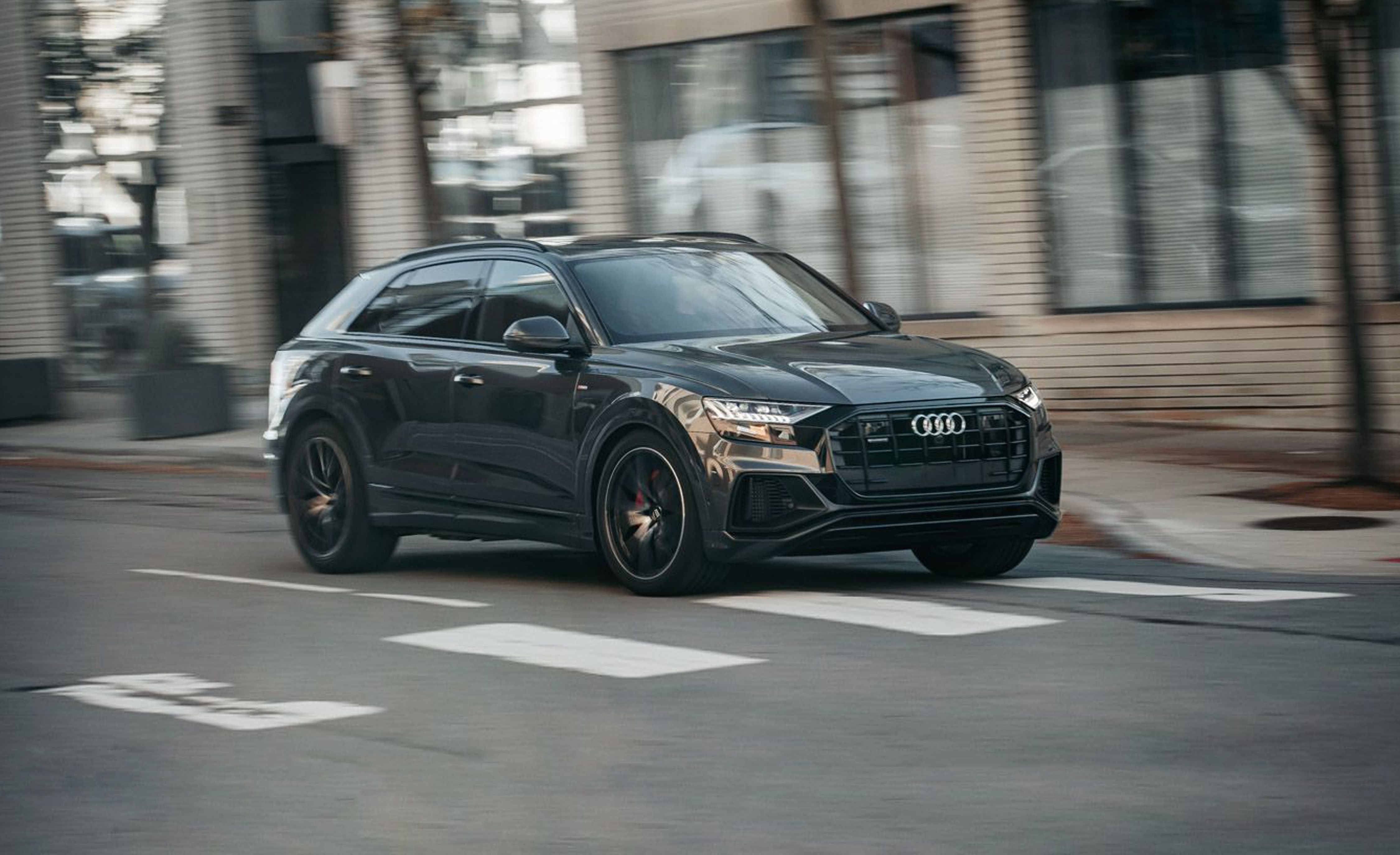 2019 Audi Q8 Reviews Audi Q8 Price Photos And Specs Car And Driver