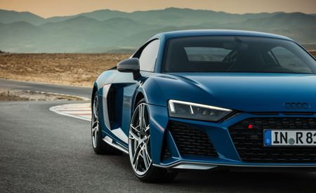 The 2019 Audi R8 Supercar Won't Get a V-6 Engine