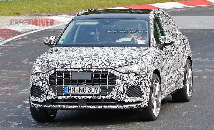 Spied Audis First SQ Is Nearing Production News Car And Driver - Audi small car