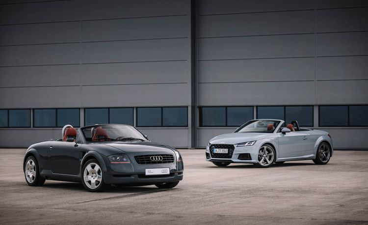 2019 Audi TT 20 Years Edition Looks Back at the Start of It All
