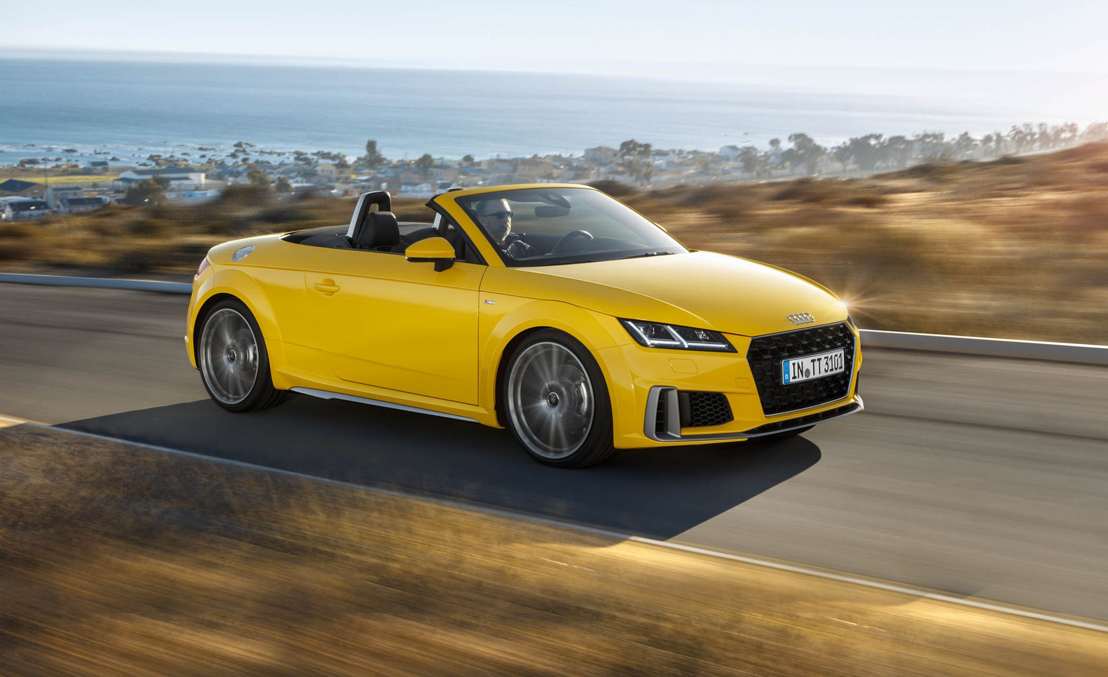 2019 audi tt tts reviews audi tt tts price photos and specs car and driver. Black Bedroom Furniture Sets. Home Design Ideas