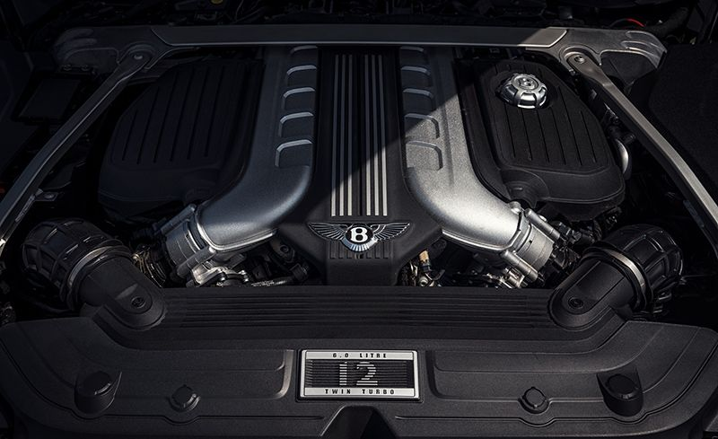 Compared With The Version In Bentayga W 12 Continental Makes 26 More Horse Largely Due To Diffe Ecu Ming