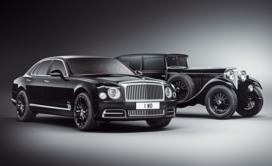 Founder's Reserve: Bentley Mulsanne W.O. Edition Celebrates 100 Years