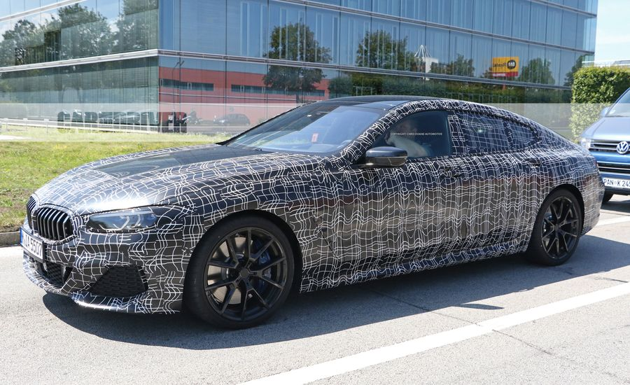 2019 BMW 8 Series Gran Coupe Will Be The Bavarians New Four Door