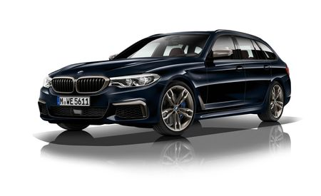 The BMW M550d Is a Monster of a Quad-Turbo Diesel Wagon