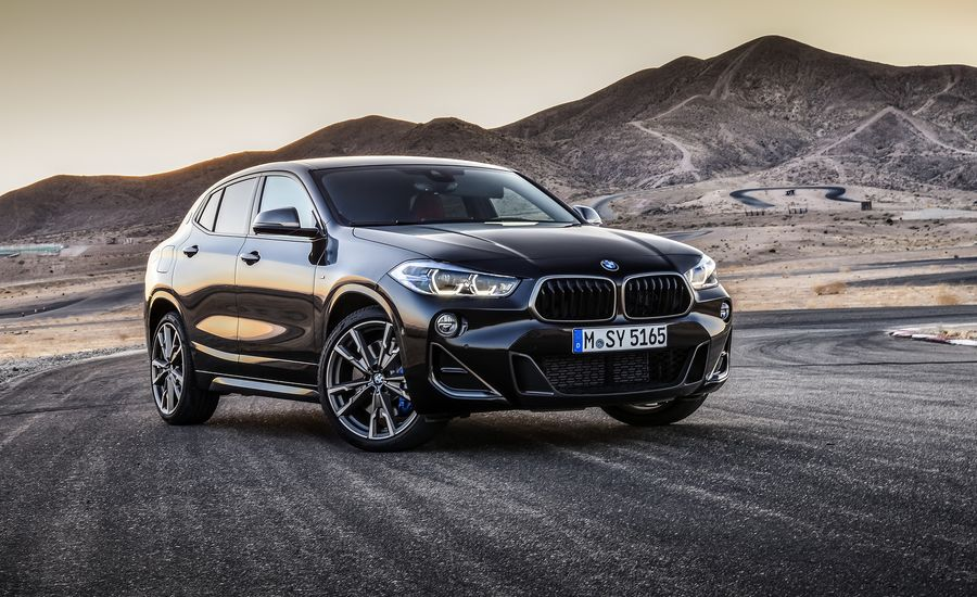 BMW's X2 M35i Is Its Littlest Crossover with Its Most Powerful Turbo Four