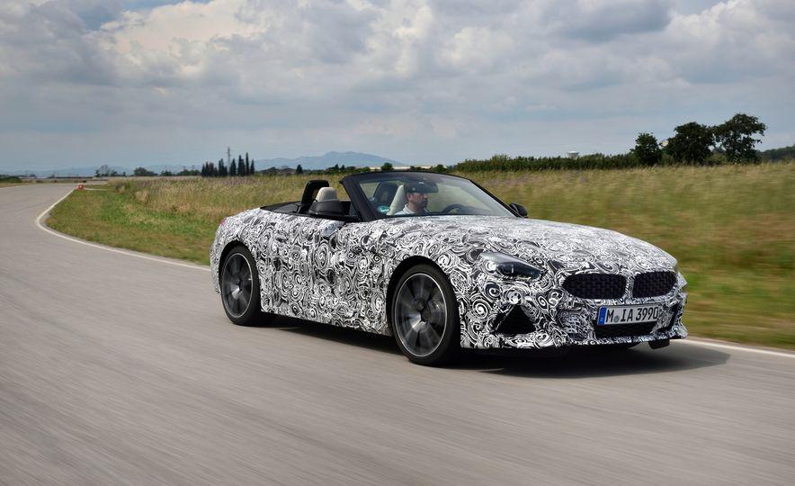 2020 BMW Z4 M40i prototype  - Slide 1