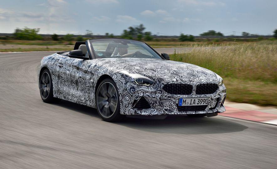 2020 BMW Z4 M40i prototype  - Slide 2