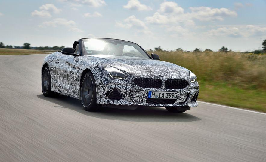 2020 BMW Z4 M40i prototype  - Slide 3