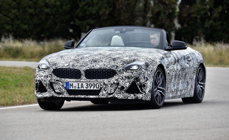 2020 BMW Z4 M40i prototype  - Slide 5