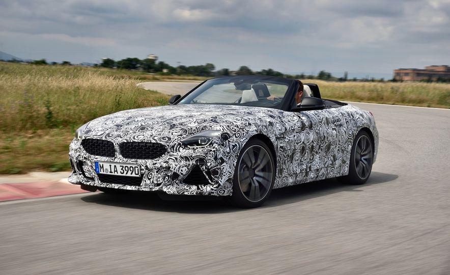 2020 BMW Z4 M40i prototype  - Slide 6