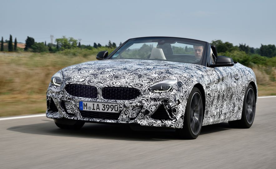 2020 BMW Z4 M40i prototype  - Slide 7