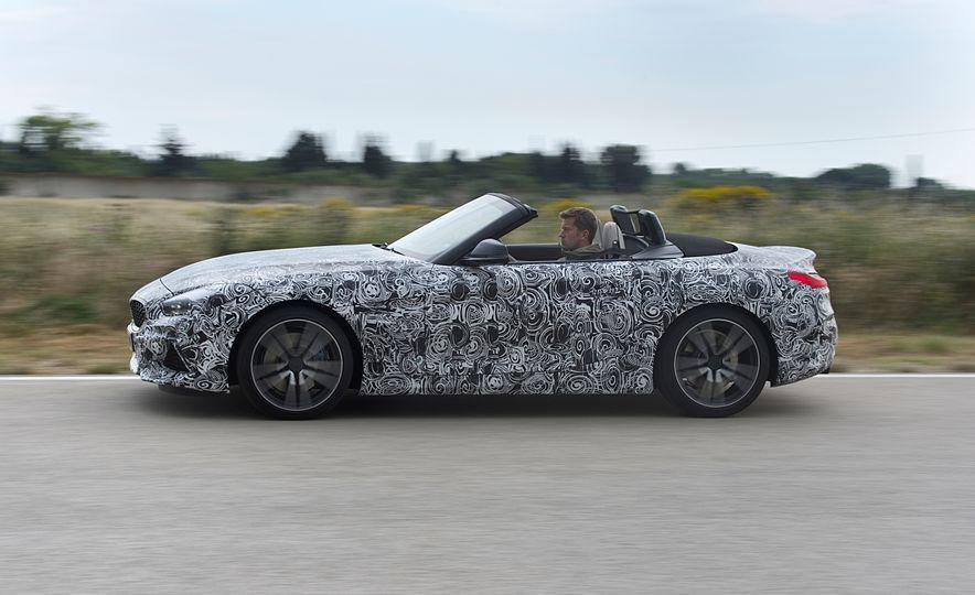 2020 BMW Z4 M40i prototype  - Slide 9