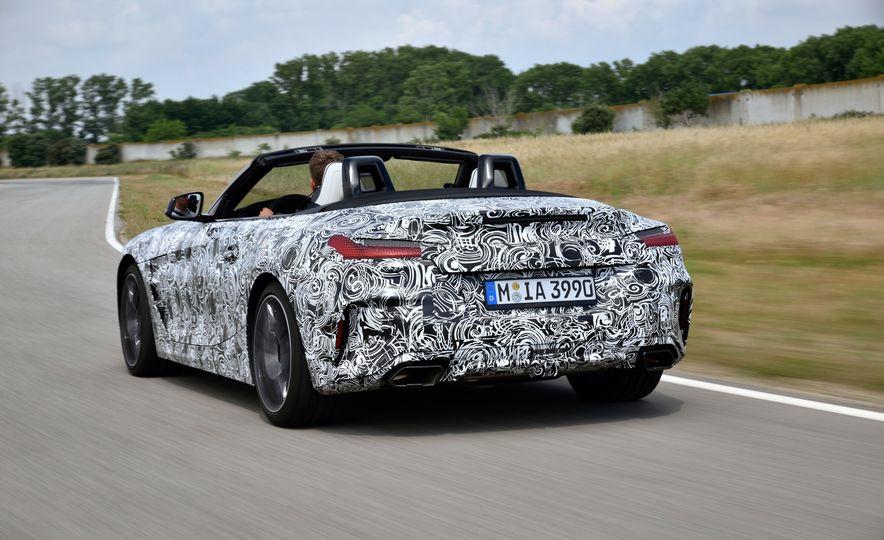 2020 BMW Z4 M40i prototype  - Slide 10