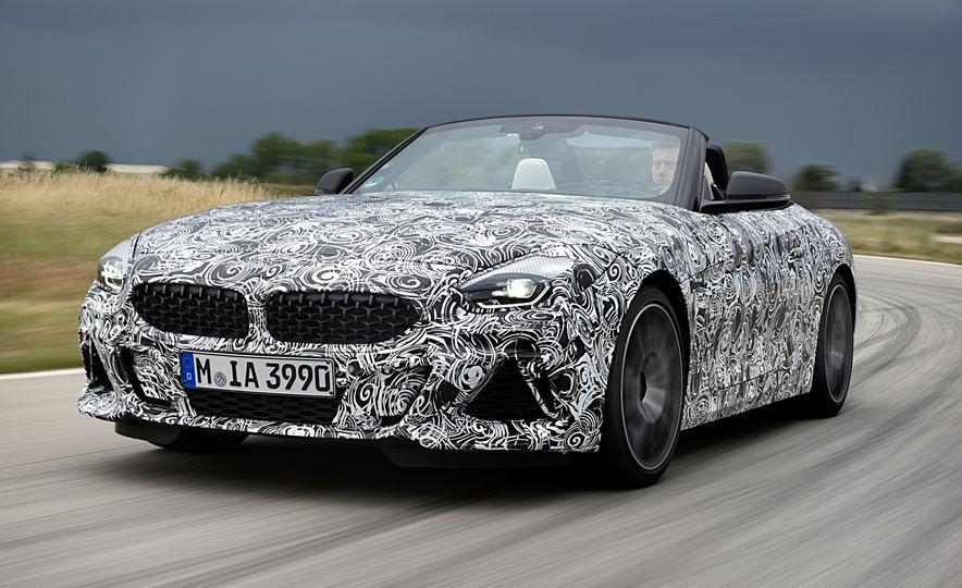 2020 BMW Z4 M40i prototype  - Slide 12