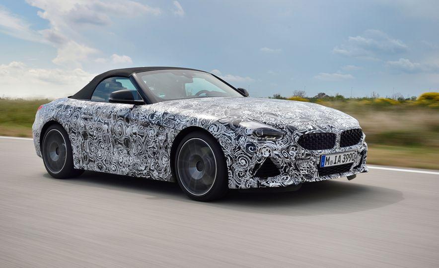 2020 BMW Z4 M40i prototype  - Slide 17