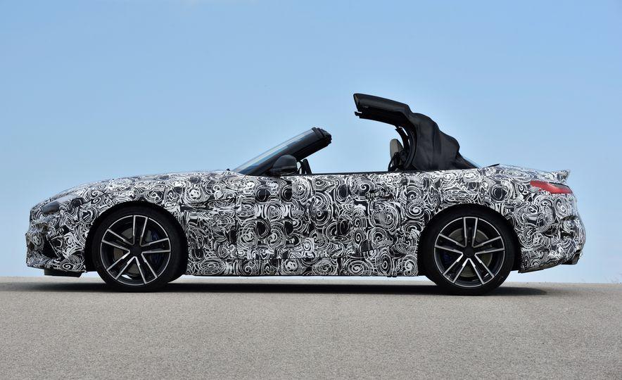 2020 BMW Z4 M40i prototype  - Slide 21