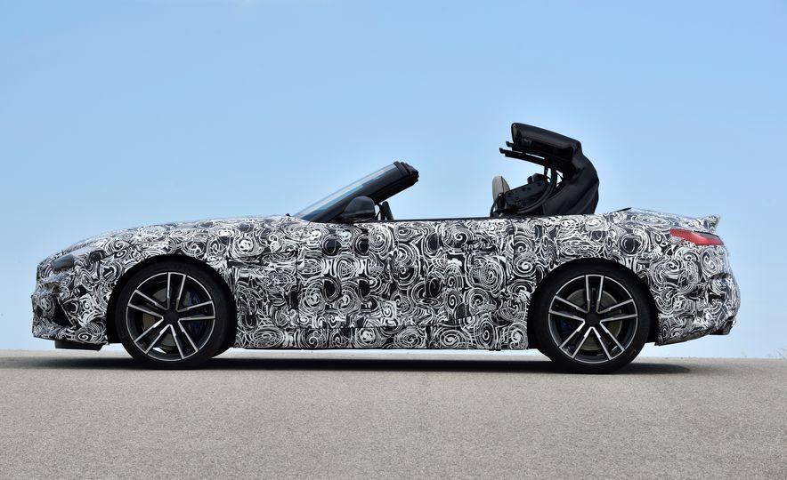 2020 BMW Z4 M40i prototype  - Slide 22
