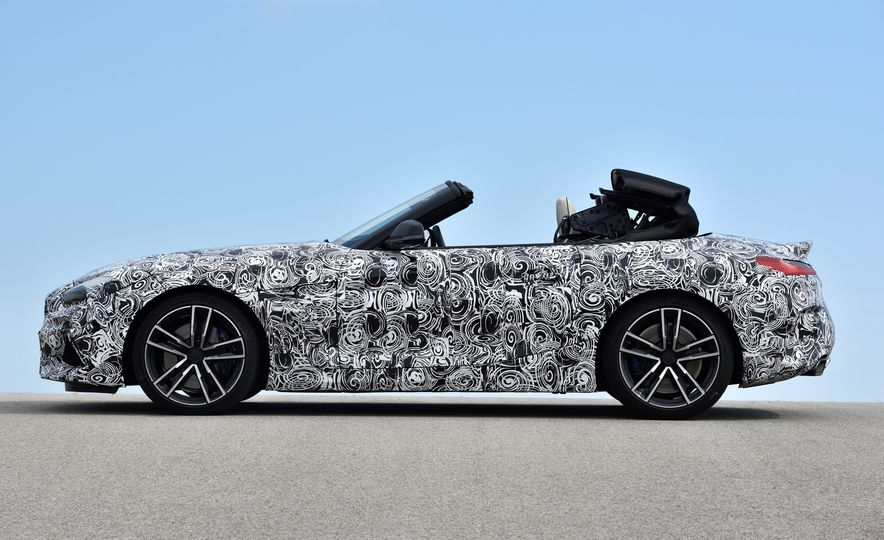 2020 BMW Z4 M40i prototype  - Slide 23