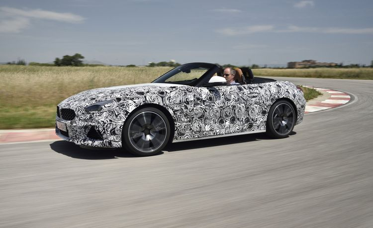 2020 BMW Z4 M40i Prototype Driven: The Supra's German Brother