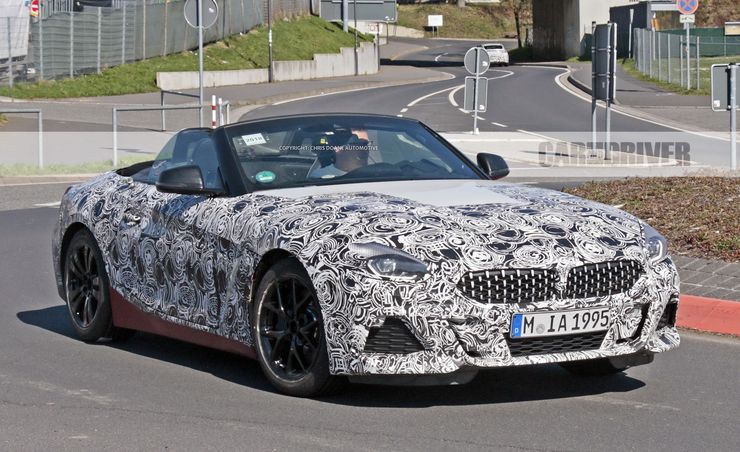 2019 BMW Z4 Roadster Interior Revealed in New Spy Images