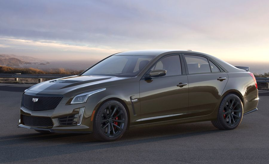 The 2019 Cadillac ATS-V and CTS-V Pedestal Edition Celebrate 15 Years of V-Series