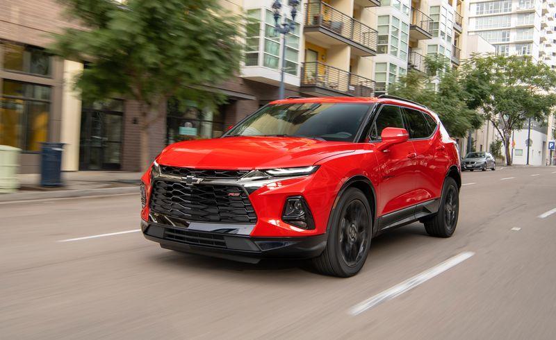 2019 Chevrolet Blazer Reviews Chevrolet Blazer Price Photos And