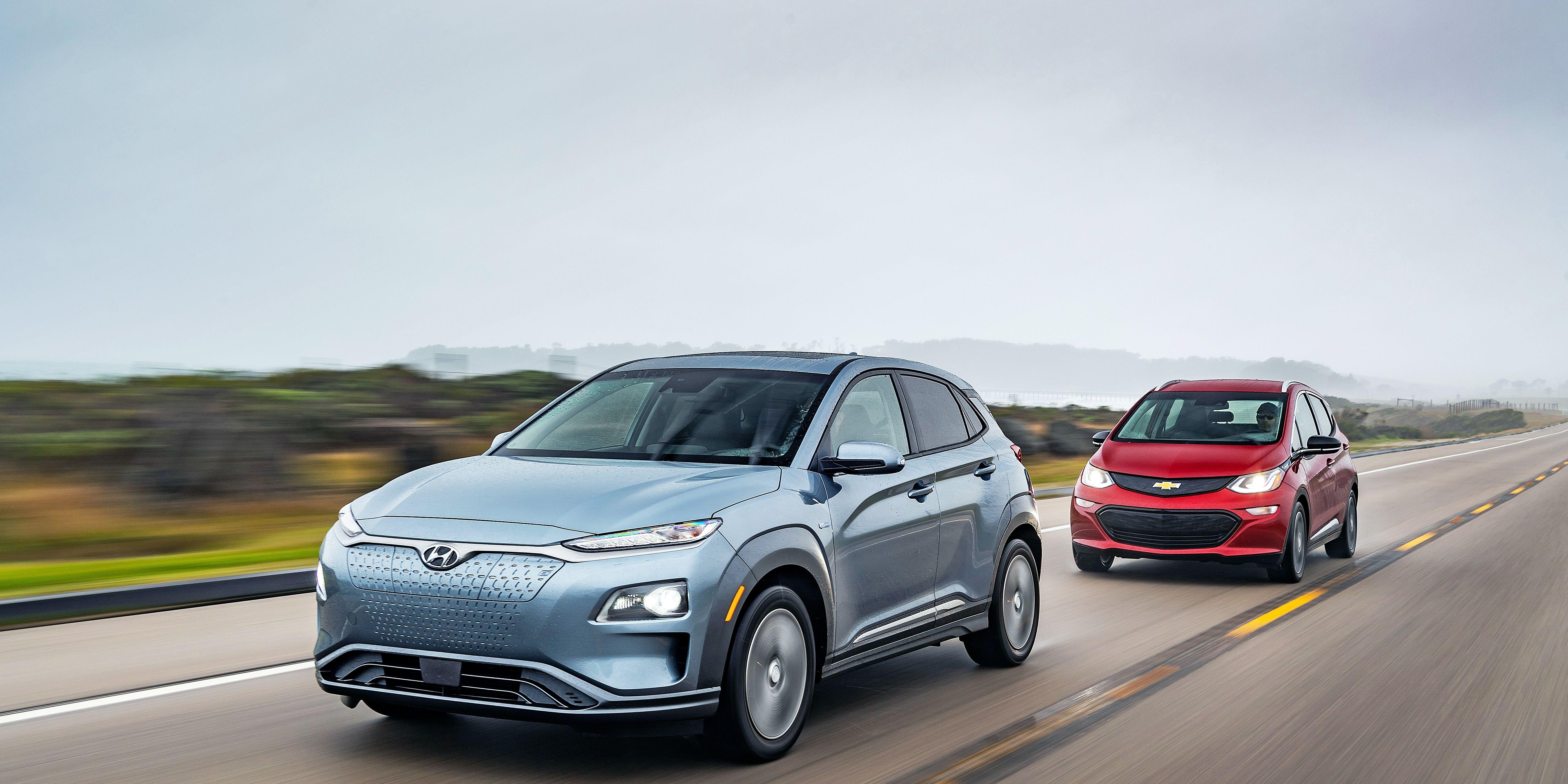 2019 Chevrolet Bolt EV and 2019 Hyundai Kona Electric Battle To Find the Best Alternative to the Tesla Model 3