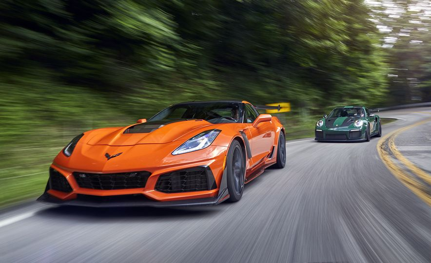 2018 Porsche 911 GT2 RS and 2019 Chevrolet Corvette ZR1 - Slide 5