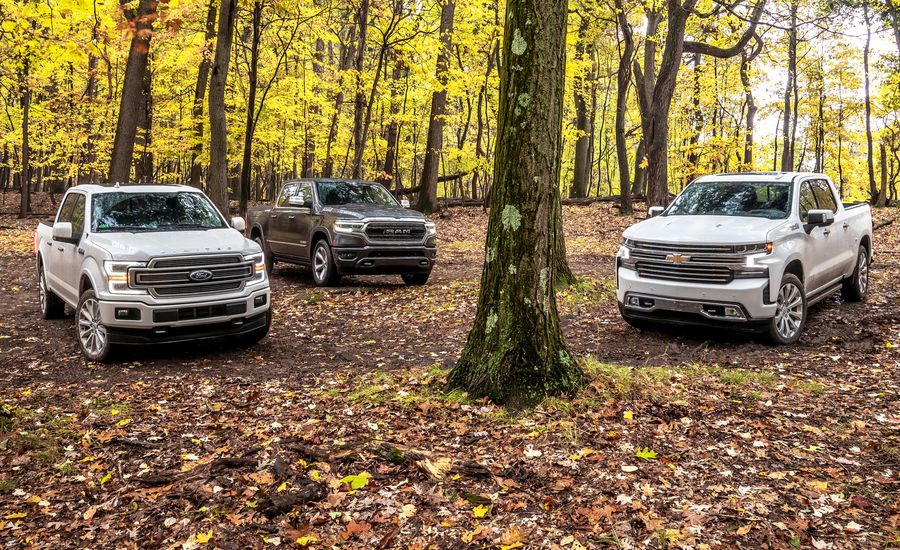 ford f 150 vs chevy silverado vs ram 1500 which one is better