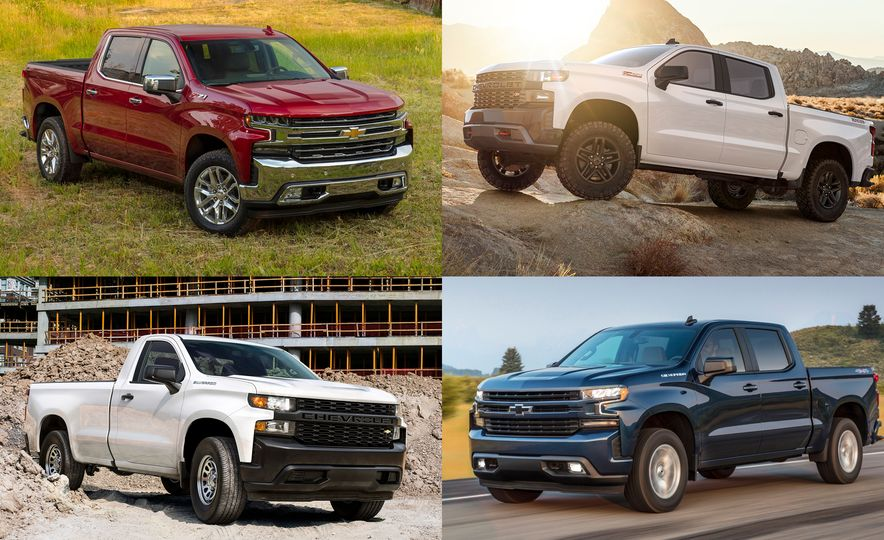 The Spotter's Guide to Every 2019 Chevrolet Silverado 1500 Trim Level - Slide 1