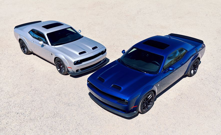 2019 Dodge Challenger SRT Hellcat Redeye Widebody and 2019 Dodge Challenger SRT Hellcat Widebody - Slide 1