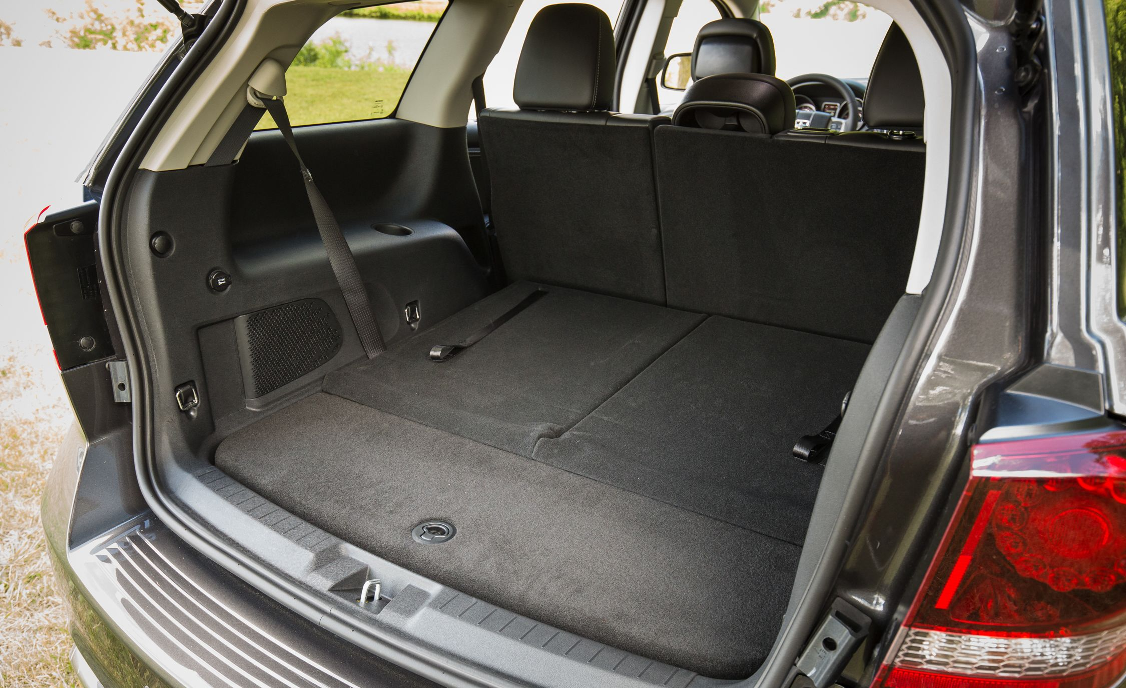 dodge journey review cargo space  storage