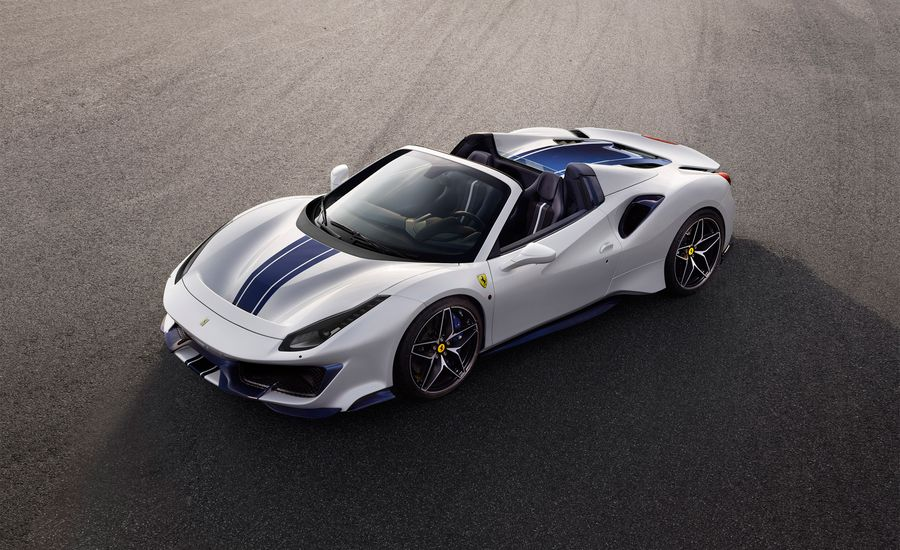 2019 Ferrari 488 Pista Spider Offers 710 HP without a Roof