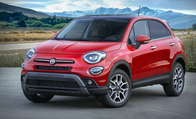The 2019 Fiat 500X Packs New Engine and Standard All-Wheel Drive beneath the Same Old Body