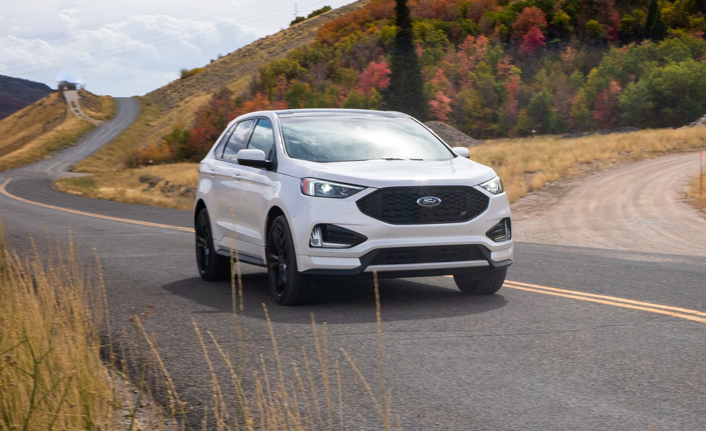 The  Ford Edge St Shows The Softer Side Of Ford Performances Future