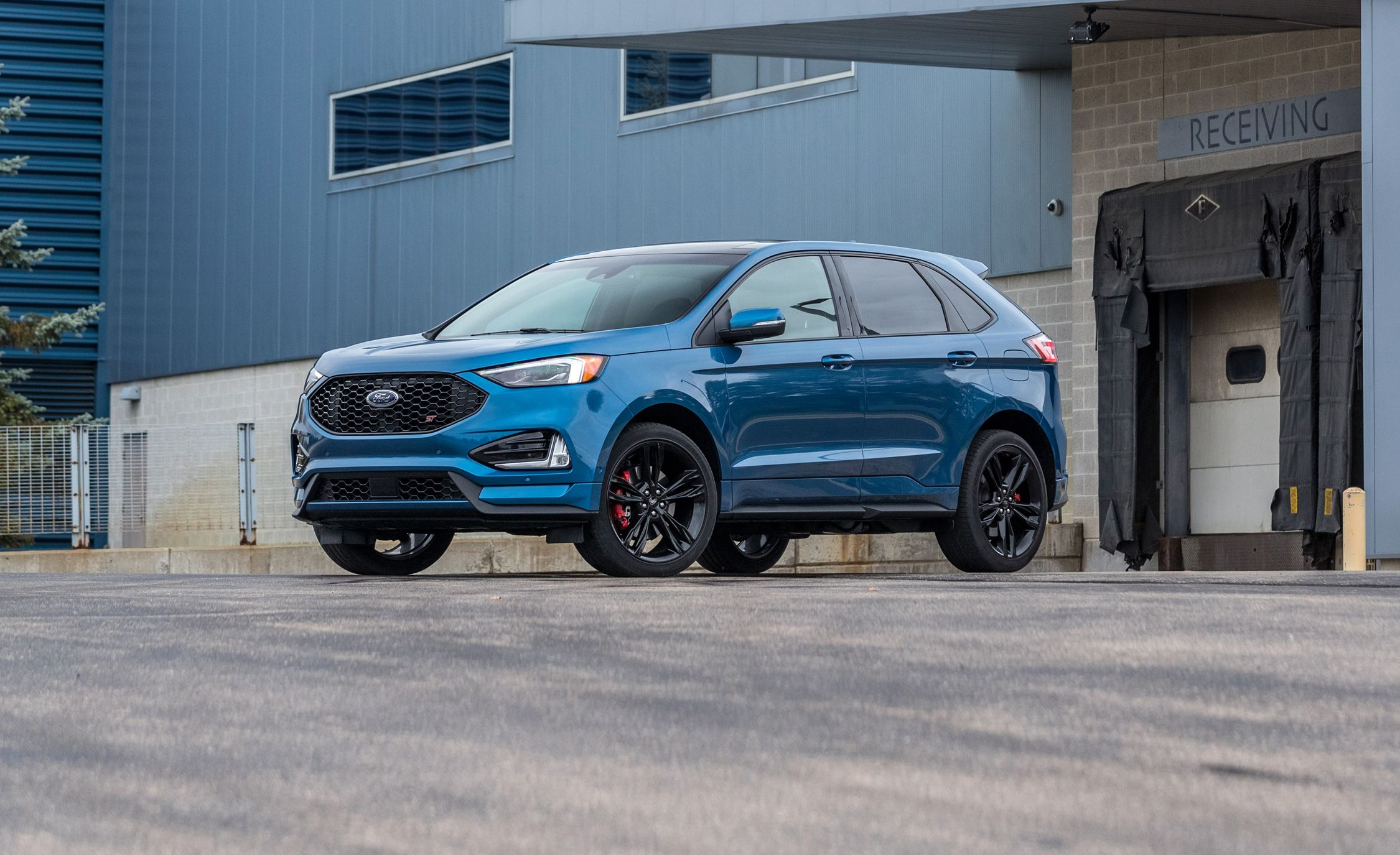 The Ford Edge ST Is No Quicker Than the Old Sport Model