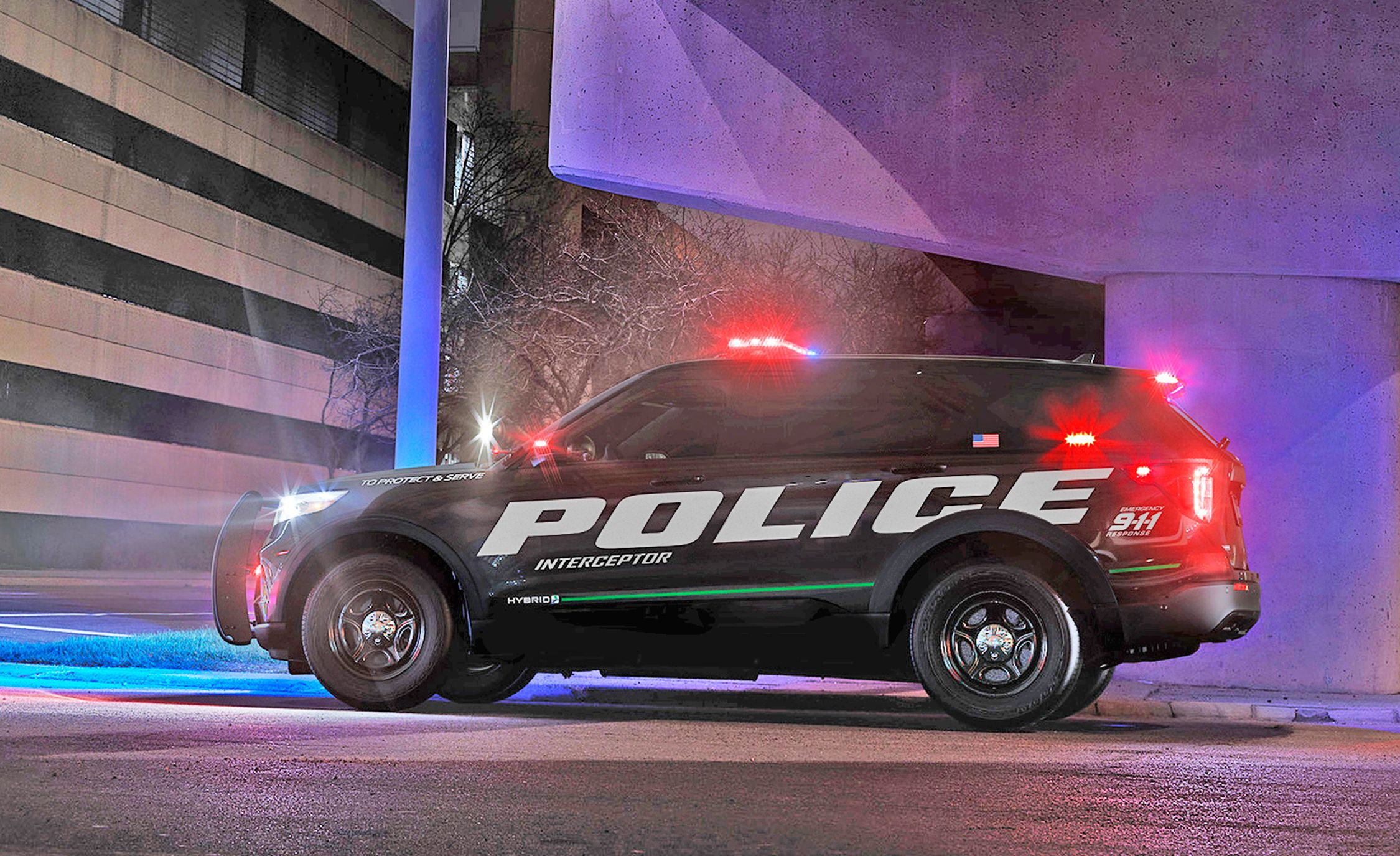 Caranddriver 2020 Ford Explorer In Cop Car Form Luxury Auto
