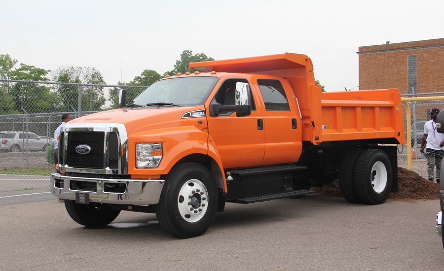 Dumps Like a (Ford) Truck: We Do Some Hauling in an F-650 Dump Truck