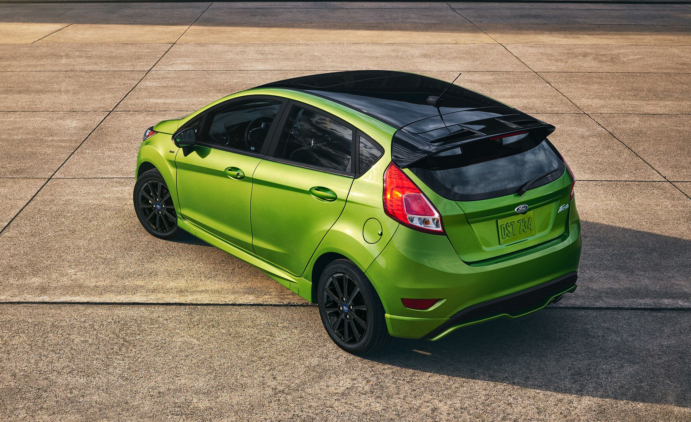 New ford fiesta st smaller engine more torque