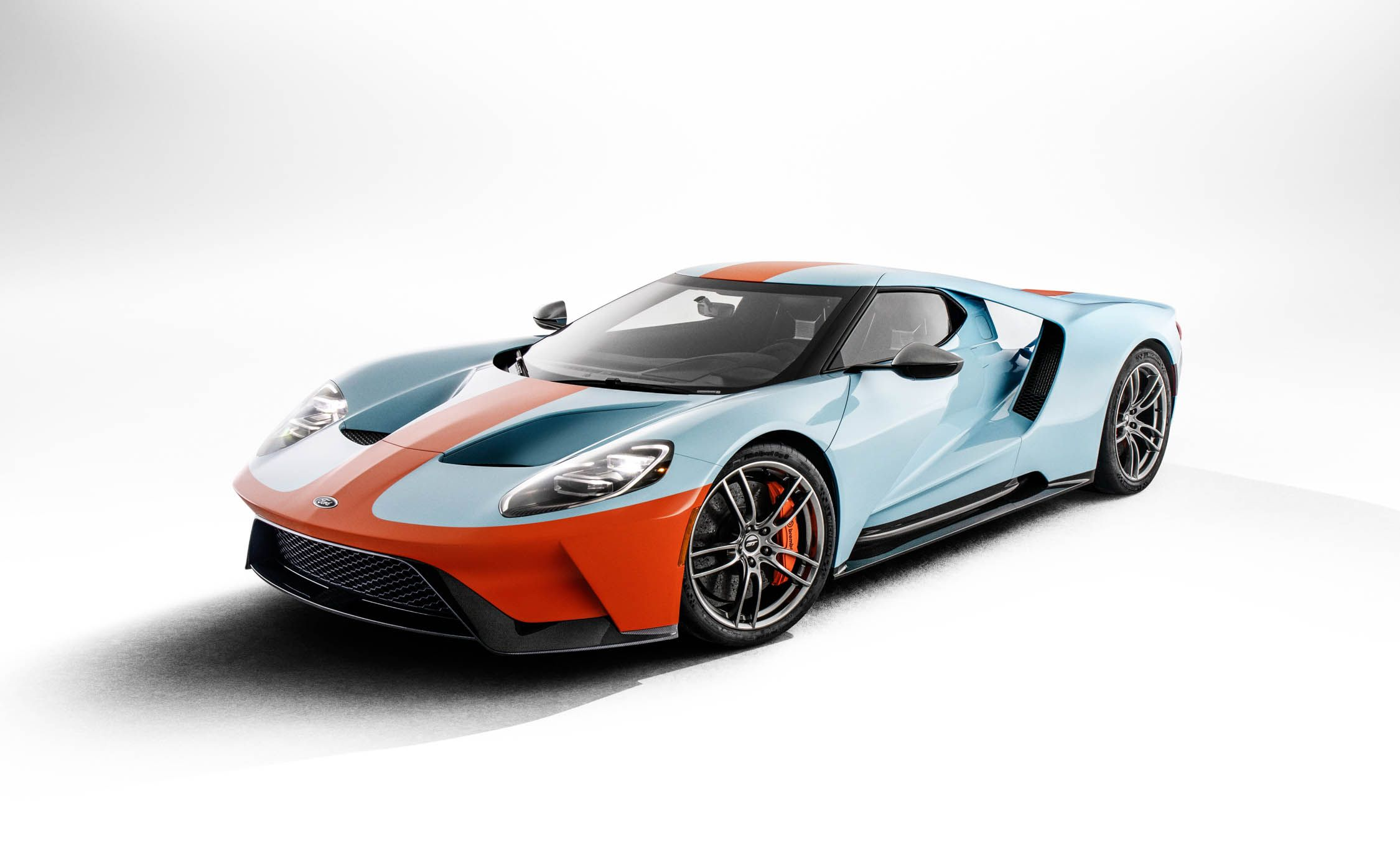 Ford Gt Heritage Edition Wears Gulf Livery Of Le Mans Winning Gt