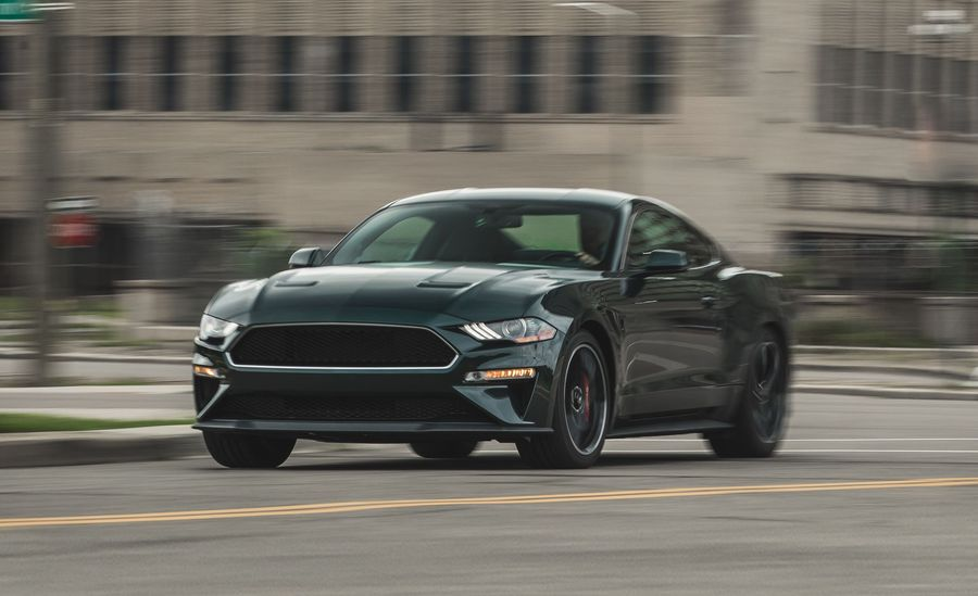 ford mustang bullitt hits  pony car sweet spot