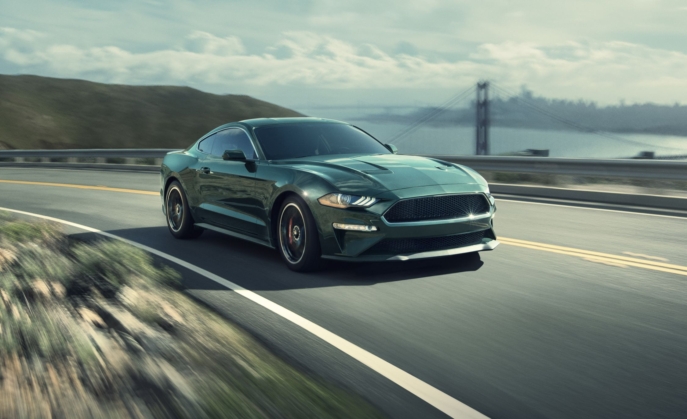 2019 ford mustang bullitt driven riding 480 loud horses review car and driver
